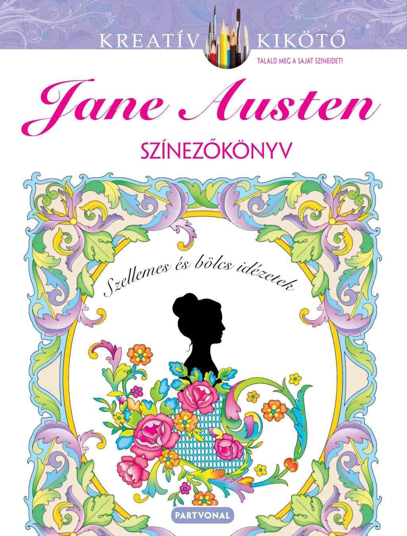 Marty Noble - Jane Austen - Színezőkönyv